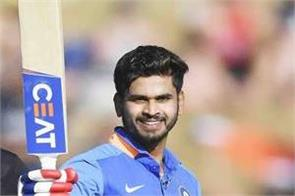 shreyas iyer hit 1st odi century against nz and create these records