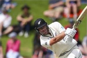 kiwi player jamieson equals michael clarke record of most sixes in test debut