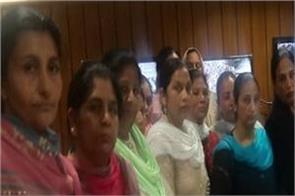 sangrur anganwadi workers jail bharo andolan