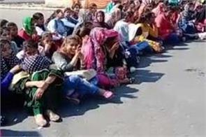 students protest jalandhar