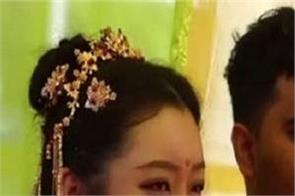 chinese woman travels to india for an indian wedding