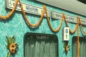 narendra modi flags off kashi mahakal express