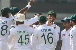bangladesh test team announced against zimbabwe