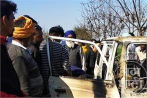 longowal van accidents pictures