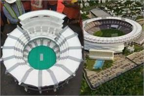 featured in the world s largest cricket stadium in india
