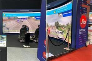 auto expo 2020  jio introduces   connected vehicle echo