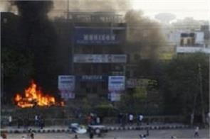 caa protest in delhi  curfew in 4 place