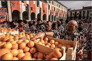 see the war in italy  with the oranges  see pictures