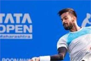 tennis  nagel tata out of maharashtra open