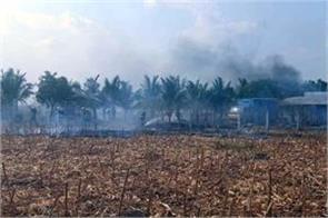 blaze in virudhunagar firework factory  seven dead  nine injured