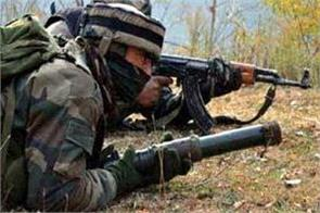 pakistan firing near control line in poonch district of jammu and kashmir