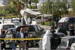 terrorist attack outside us embassy in tunisia  policeman killed
