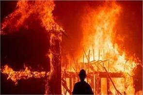 heavy fire in military camp in kupwara