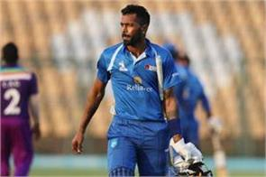 pandya made it to reliance one in the semifinals