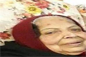finance minister manpreet singh badal  s mother death