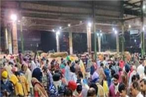 rajpura vegetable market crowd of people