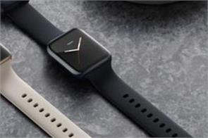 oppo watch launched with apple watch like design