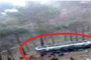 five dead a bus falls into a ditch in himachal pradesh