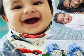gippy grewal shared baby pics