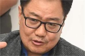 athletes returning from high risk nations will be quarantined  rijiju