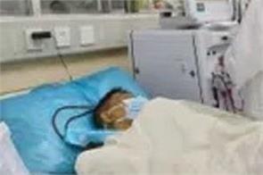 london corona patient