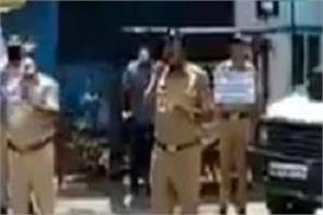corona virus pune police creative video viral