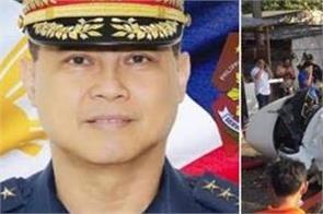 philippines helicopter crash  7 injured