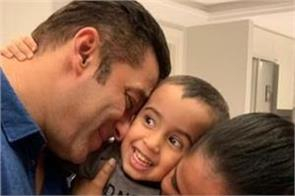 salman khan spending time with nephew ahil