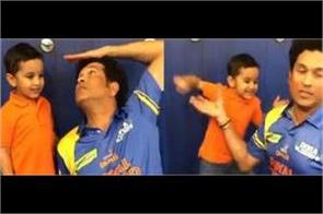 irfan patahan son imran shows boxing talent sachin tendulkar