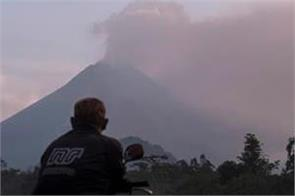 indonesia  s most active volcano spews massive ash cloud