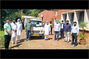 mla amrik singh dhillon helps poor people