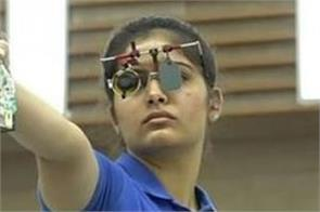 indian shooters take part in olympic trials
