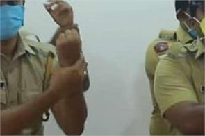 kerala police hand washing dance is going viral