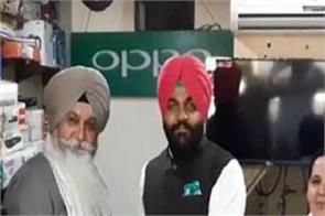 delhi violence   gurjeet singh aujla honors father and son