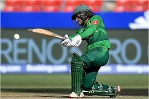 pakistan  s fourth woman to play 100th t20 in javeria