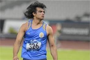 corona fear  athlete neeraj chopra returns from turkey