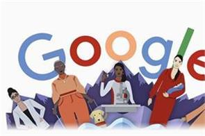google create a doodle on international women s day