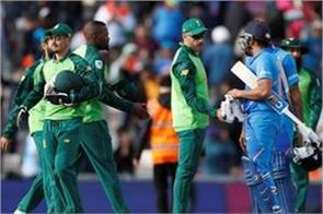 south africa team announced to visit india
