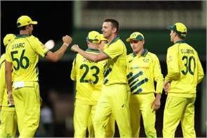 great win over new zealand in australia s first odi