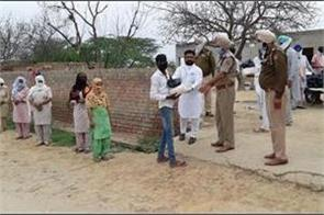 punjab police needy poor families for messiah