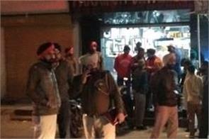 unidentified gunmen opened fire in the market