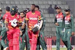 zimbabwe beat bangladesh in odis