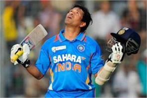 sachin tendulkar and  record