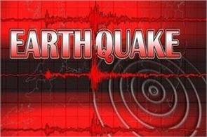 earthquake tremors felt late in assam