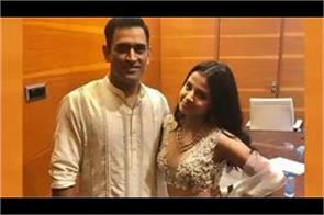 dhoni  s wife sakshi salutes corona warriors in a special way