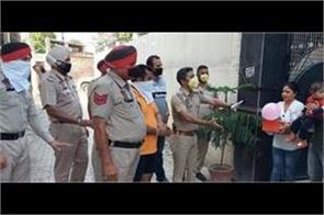 nakodar police celebrate children birthday