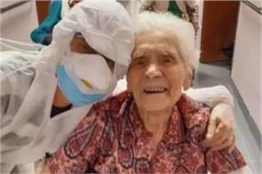 the world s oldest woman gave corona the loss