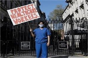 pregnant doctor indian origin shortage of ppe kits in uk hospitals