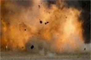 blast in afghanistan  security official killed