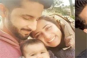 sargun mehta and ravi dubey shares little nephew sahraaj pics